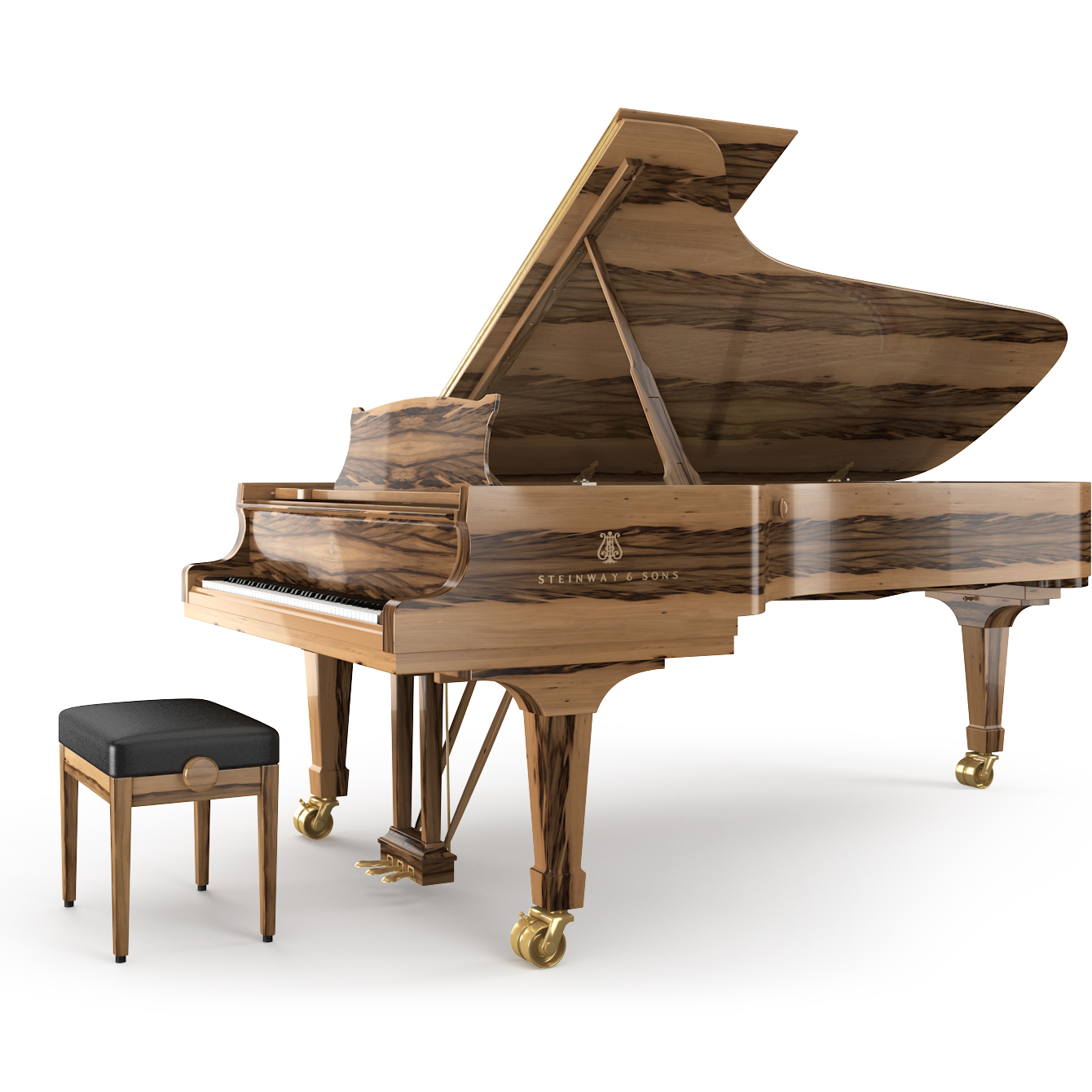 steinway sons d 274 piano steinway d 274 chez pianos daud. Black Bedroom Furniture Sets. Home Design Ideas